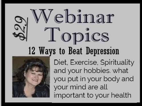 12 Ways to Beat Depression