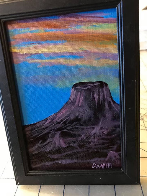 Small Canvas - 4X6 - Framed