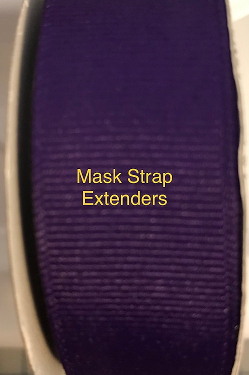 Mask Strap Extender-Purple