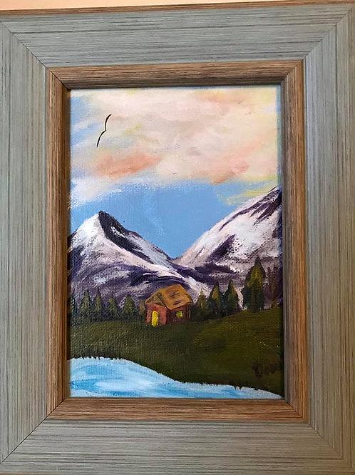 Small Canvas - 5X7 - Framed