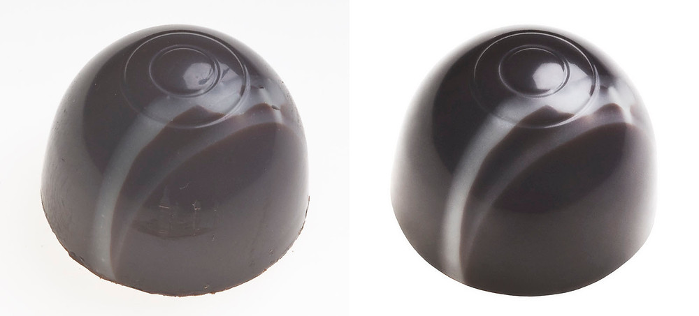 Retouched pralines are sweet