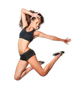 Weight loss concept - dancer