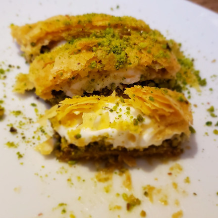 jaffa foodie baklava