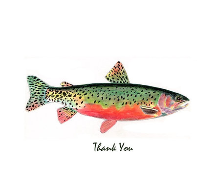 Trout - Green - Thank You