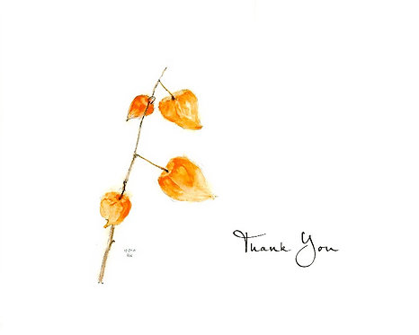 Chinese Lantern - Thank You