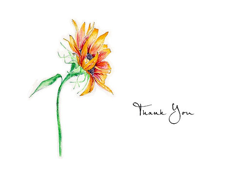 Sunflower - Thank You