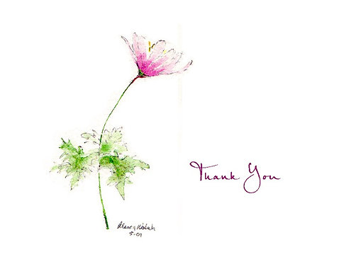 Windflower - Thank You