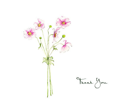 Anemone Bouquet - Thank You
