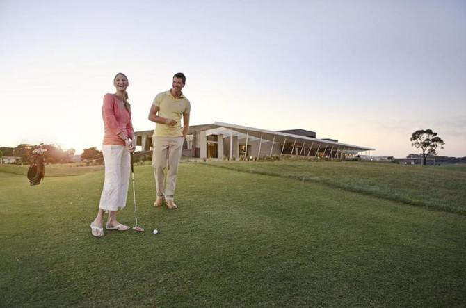 The Mornington Peninsula:  Golfing Heaven