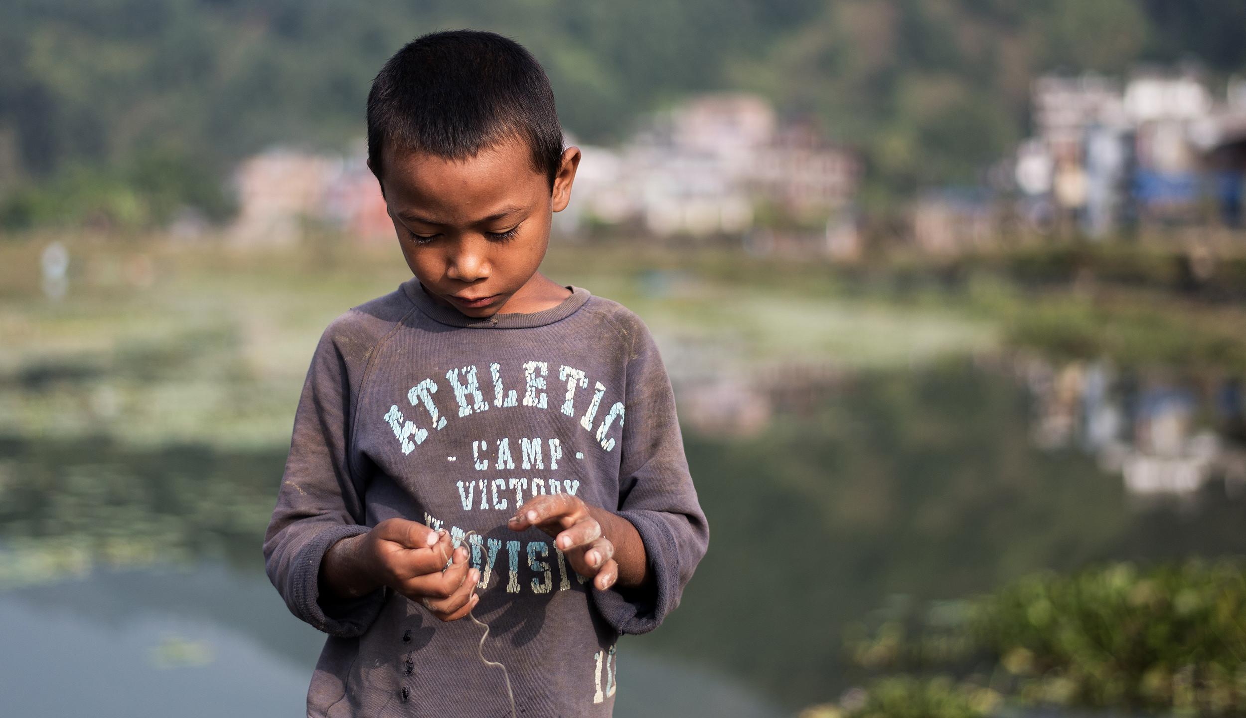 El pequeño pescador