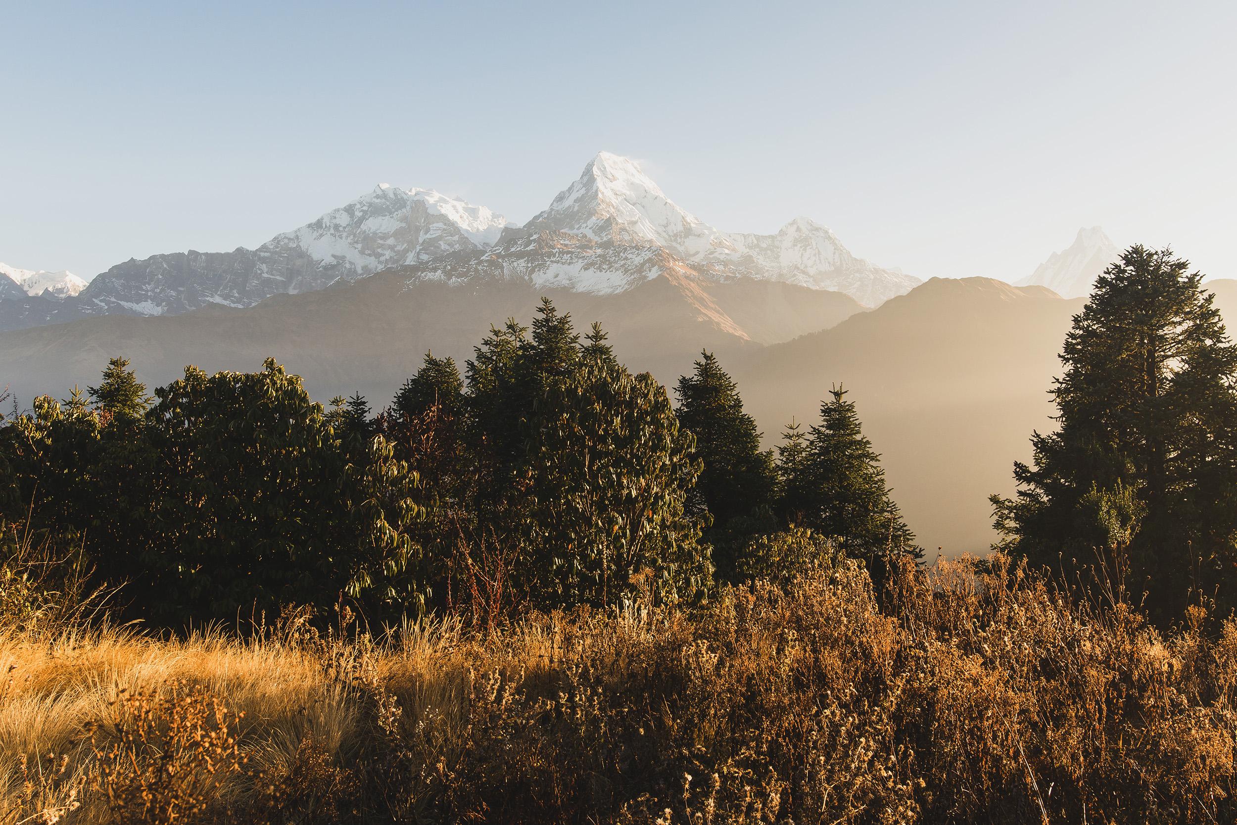 Annapurnas desde Poon Hill