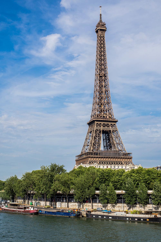 Eiffel y el Sena