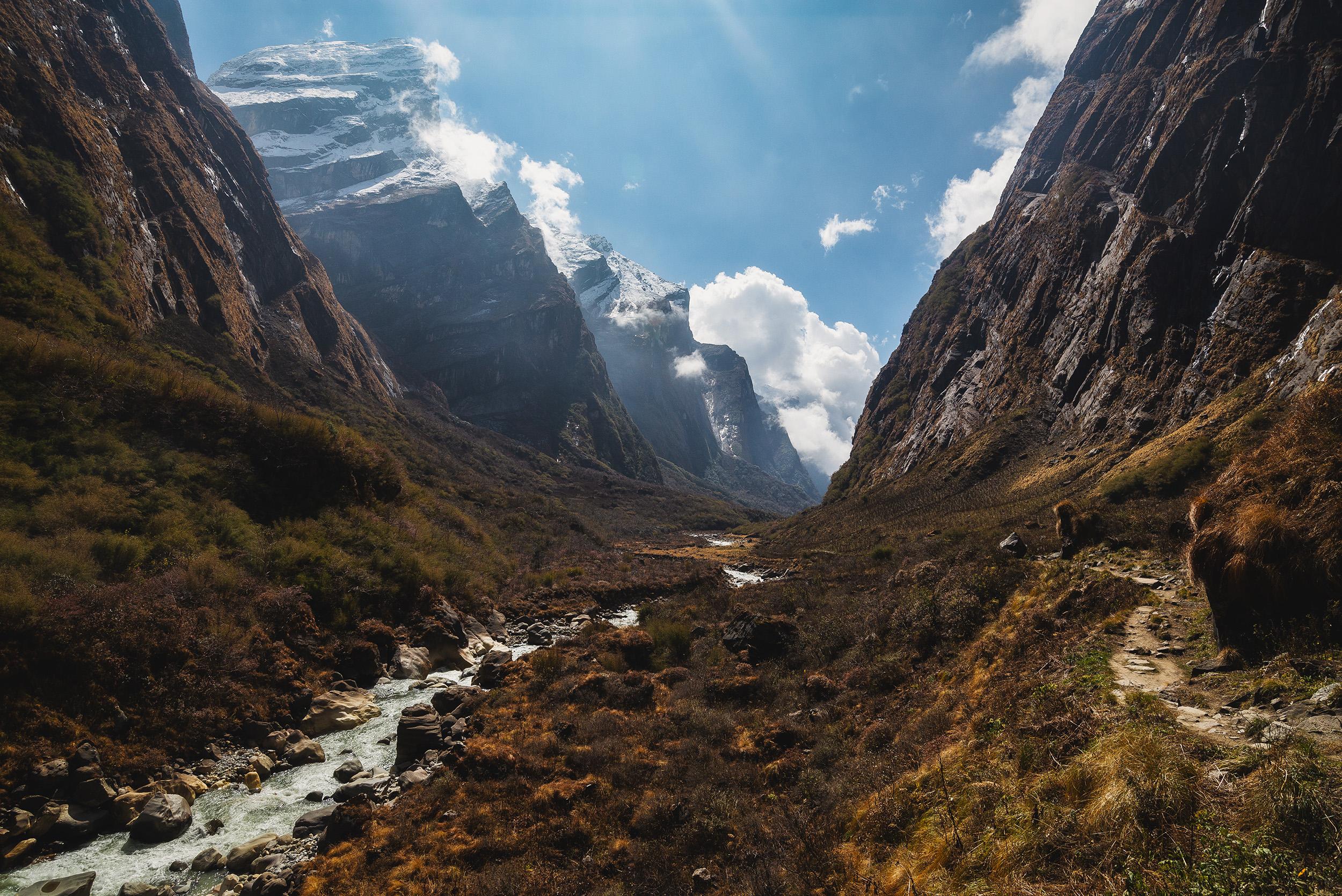 Valle de Modi Khola