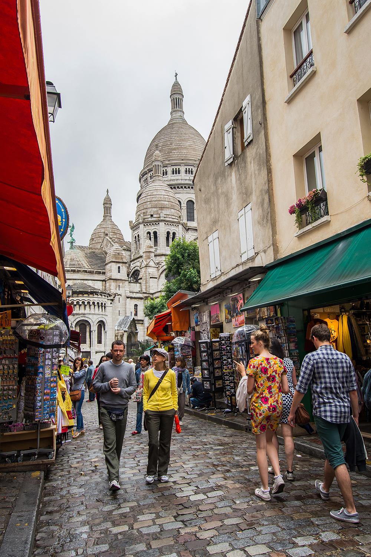 Paseando por Montmartre