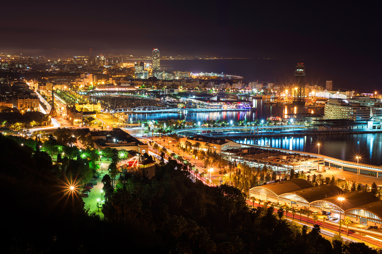 Luces de Barcelona