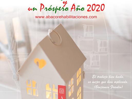 ÁBACO les desea una feliz Navidad y un próspero año 2020