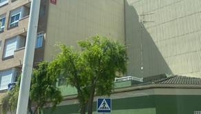 Finalización de instalación de tabique pluvial en el Grao de Gandía.