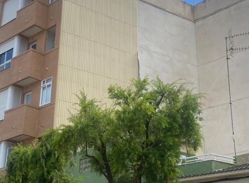 Instalación de tabique pluvial en el Grao de Gandía