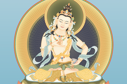 ODIYANAVajrasattva-2-with-offerings-and-