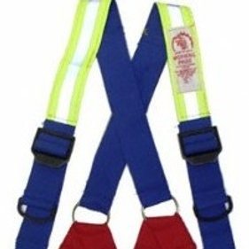 SP-DFSQ  Morning Pride Dyna-Fit Quick Adjust Snap On Suspenders W/ PADDING &Trim