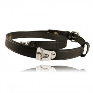DARLEY BOSTON LEATHER RADIO STRAP