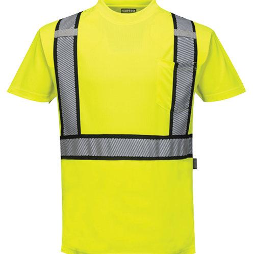 Detroit Short Sleeved T-Shirt ANSI/ISEA 107-2015 TYPE R CLASS 2