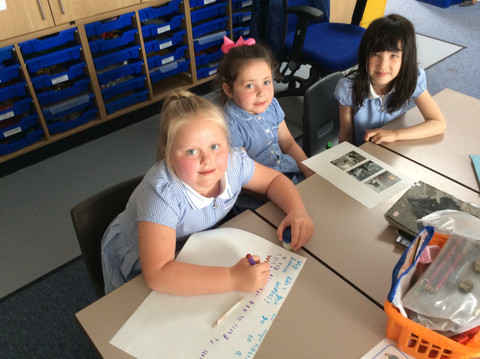 Back to Blackmoor with a BANG! Exciting writing in Sycamore!