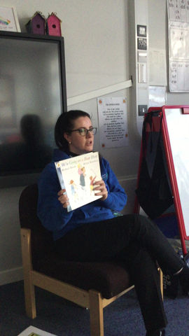 Story time with Mrs Ware