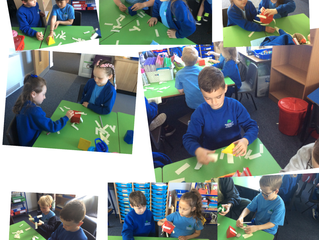 Shape detectives in Elm class!