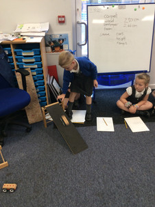 Science Investigation - Materials and Ramps! - Class Oak