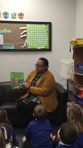 Story time by Miss Bobb - Year 2