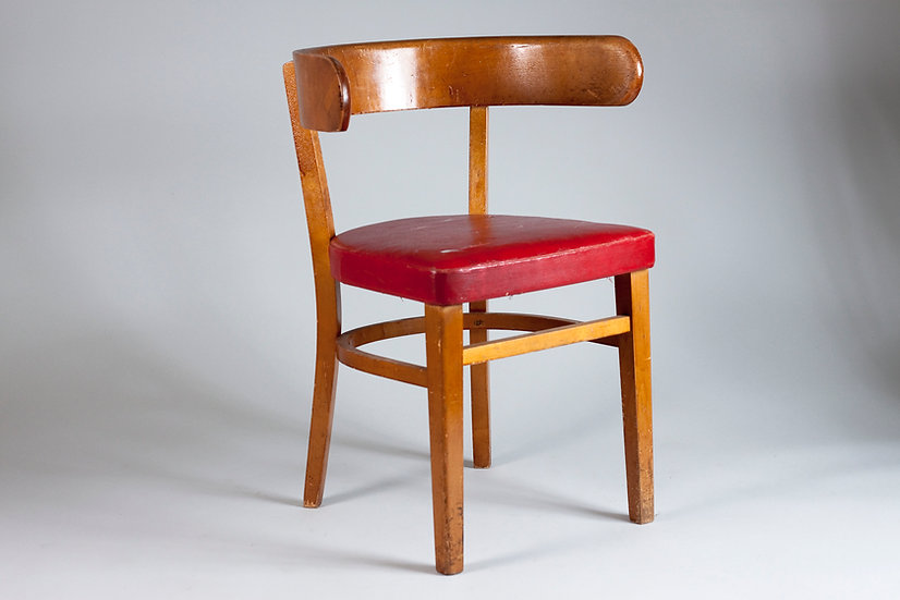 1940s Hugging Chair by Werner West, Finland