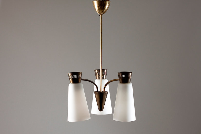 Finnish 1960s Pendant Lamp, Itsu