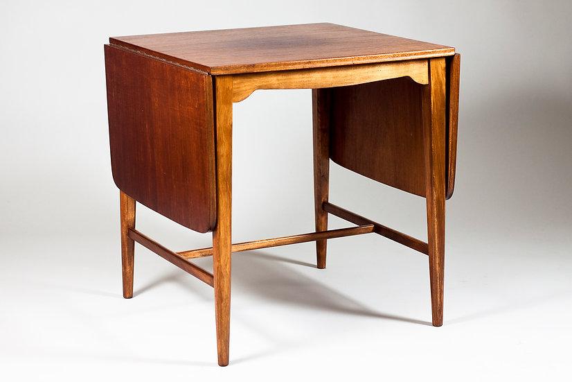 1950s Teak Drop Leaf Coffee Table by ASKO, Finland