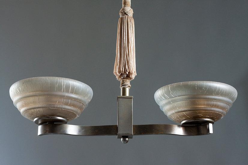 Finnish Decorative Art Deco Pendant Light