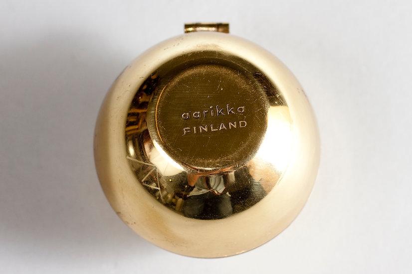 Ash Tray in Brass by Aarikka, Finland