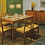 "1960s Teak Dining Set ""Alli"" by Jussi Peippo for ASKO, Finland"