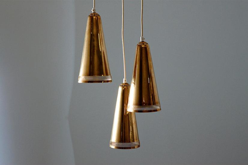 Finnish 1960s Pendant Light by Itsu