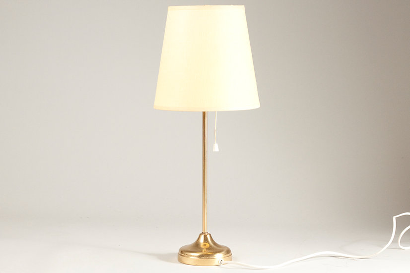 Swedish Mid-Century Brass Desklamp by NAFA