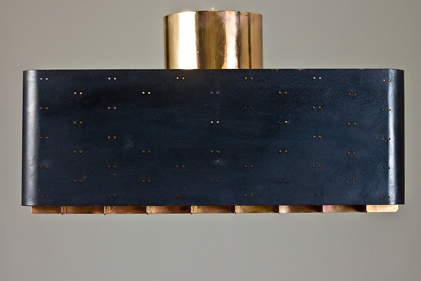 "Early Paavo Tynell ""Starry Sky"" Ceiling Light for TAITO Oy"