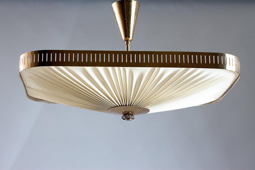 Itsu, 1950s Finnish Plafond Lamp