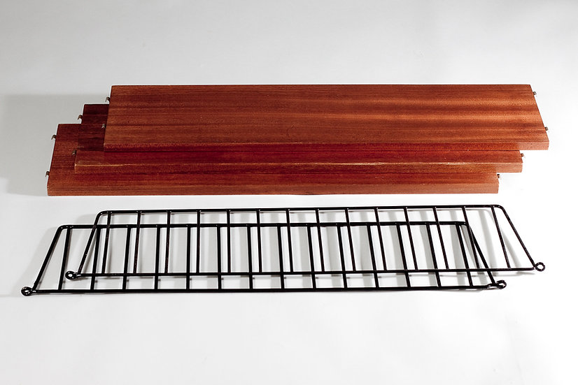 Mid-Century Modern String Wall Shelf by Nils Strinning, Sweden