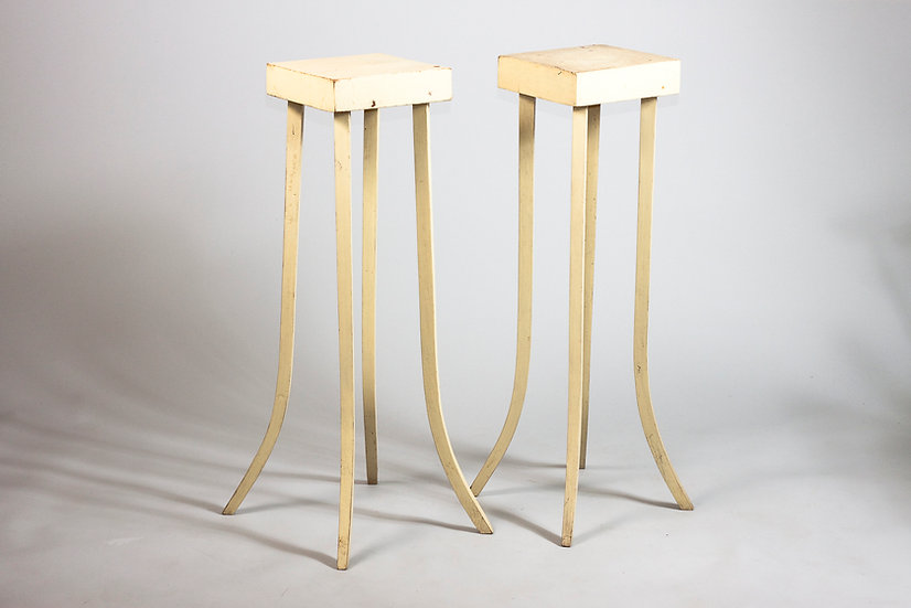 Pair of Finnish 1920s Plant Stands