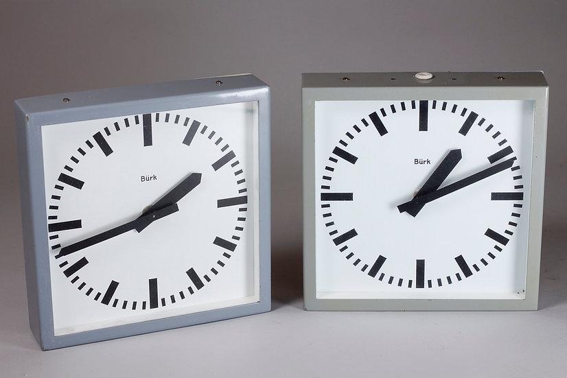 Bürk Vintage Wall Clock, Germany, 1950s