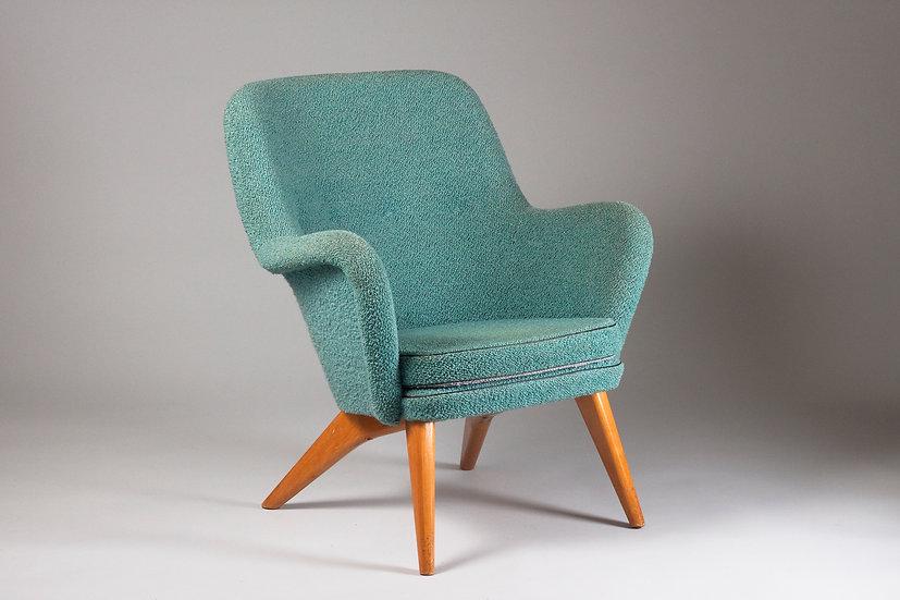 "Carl-Gustaf Hiort af Ornäs, ""Pedro"" Easy Chair in Original Condition"