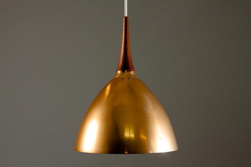 Svend Middelboe, Danish 1950s Pendant Light, Nordisk Solar