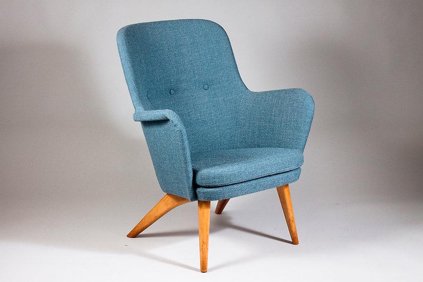 "1950s Finnish Armchair ""Grand Pedro"" by Carl-Gustaf Hiort af Ornäs"