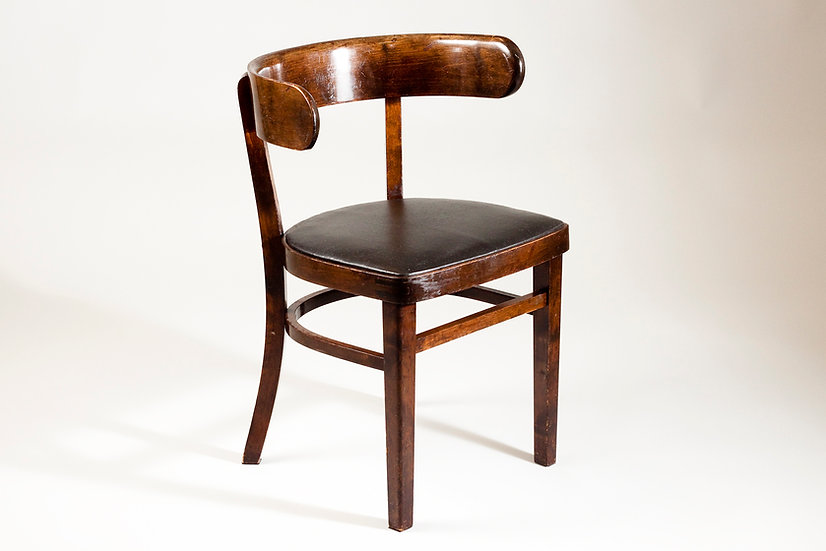 Hugging Chair by Werner West, 1930s, Ekwall Pori, Finland