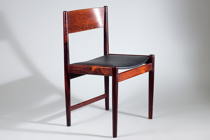 1960s Rosewood Dining Chairs (4) by Arne Vodder for Sibast Furniture, Denmark