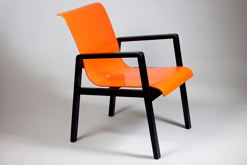 Alvar Aalto Early Hallway Chair 51/403 for Paimio Sanatorium 1932, Finland